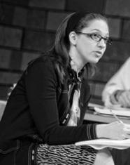 Playwright Rachel Gluck. Photo courtesy of Curio Theatre Company.