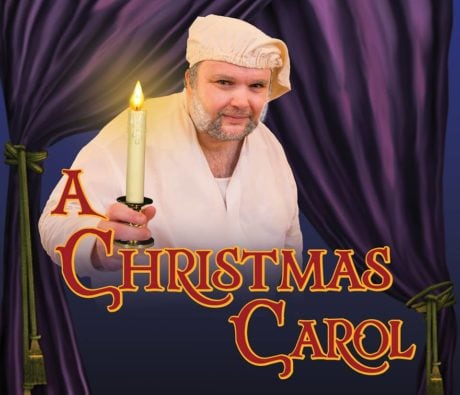 Jay Tilley (Ebenezer Scrooge). Photo courtesy of Rooftop Productions.