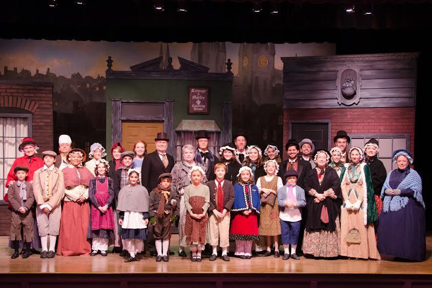 The cast of LTA's 'A Christmas Carol.'