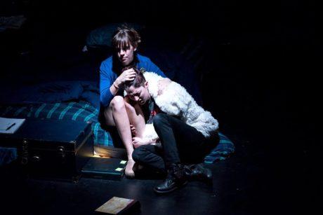 Rebecca Tucker and Rena Marie. Photo courtesy of Iron Crow Theatre.