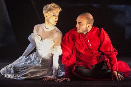 Tori Bertocci and Vato Tsikurishvili. Photo by Koko Lanham.