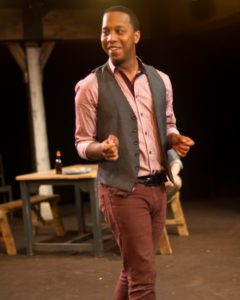 JC Payne as Con. Photo by Harvey Levine.