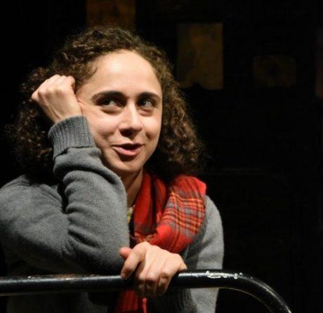 Carolyn Faye Kramer, as Anne Frank. Photo by Stan Barouh.