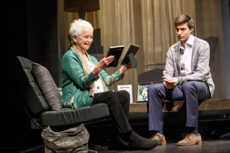 Barbara Barrie and Gideon Glick. Photo by Joan Marcus.