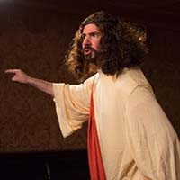 David Stanger as Jesus.