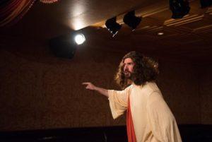 David Stanger as Jesus.