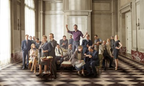 The cast of 'Oslo'. Photo by Mark Seliger.