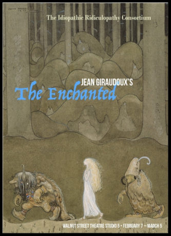 'The Enchanted' promotional image: John Bauer, 'I Will Give You This Magic Herb' (1913). Design by Tina Brock.