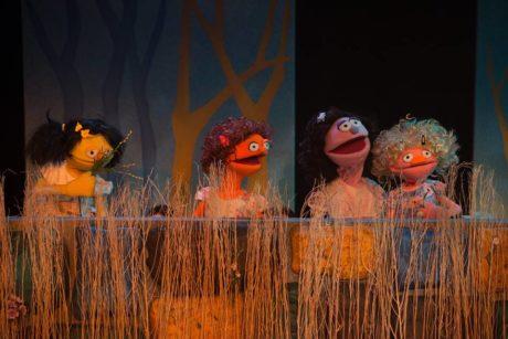 Puppets by Mark Williams. Photo by Johanna Austin.