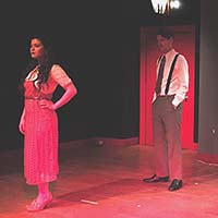 Dana Kreitz and Lee Cortopassi. Photo courtesy the production.
