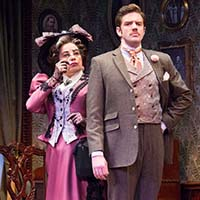Mary Martello and Jake Blouch. Photo by Mark Garvin.