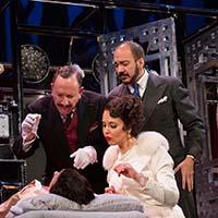 Allan Corduner, Alexandra Silber, and Evan Zes. Photo by T. Charles Erickson.