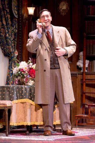 Ben Dibble in the Walnut Street Theatre's Harvey in 2016. Photo by Mark Garvin.
