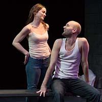 Julianna Zinkel and Mitchell Bloom. Photo by David Fertik.