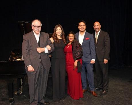 The cast of Viva la Zarzuela! The Music of Spain. Photo by Donato Valentino.