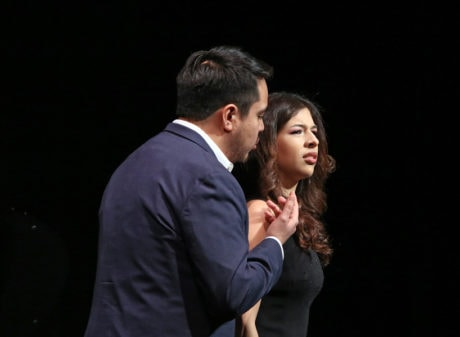 Jorge Espino and Alejandra Gomez. Photo by Donato Valentino.