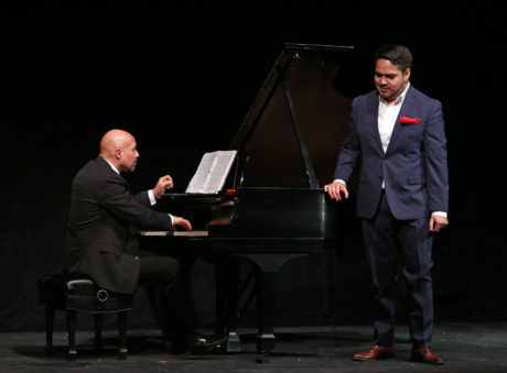 José Meléndez and Jorge Espino. Photo by Donato Valentino.