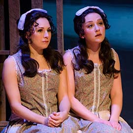 Jenna Pastuszek and Ashley Sweetman. Photo by Maura McConnell.
