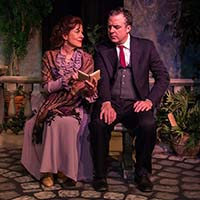 Sandra Hartman and Brian Jason Kelly. Photo by Jim Pifer.