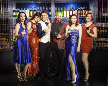 Promotional image of the ensemble. Photo courtesy of Broadway Theatre Studio.
