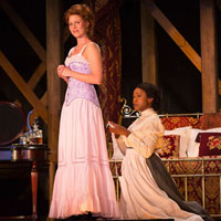 Kate MacCluggage and Quincy Tyler Bernstine. Photo by T. Charles Erickson.