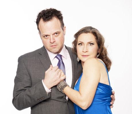 Scott Greer and Susan Riley Stevens. Photo by John Flak.