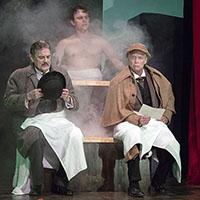 Carl N. Wallnau, Jacob Dresch, and Greg Wood. Photo by Lee A. Butz.