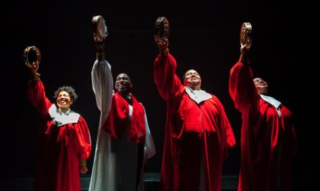 Lauren Morgan, Christopher Augustine, Christian Lee Branch, and Sabriaya Shipley. Photo by Ethimo Foto.