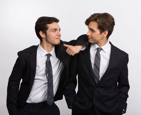 Jay Romero and Tyler Brennan. Photo by Mark Garvin.