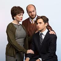 Kirsten Quinn, Ian Agnew, and Tyler Brennan. Photo by Mark Garvin.
