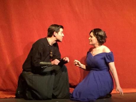 Jim Broyles and Neena Boyle. Photo by Sara Stewart.