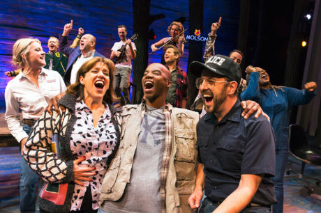 The ensemble of Come From Away. Photo by Matthew Murphy.