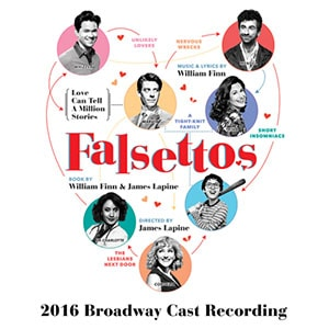 Falsettos CD Cover