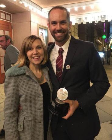 Erin Reilly and Matthew Decker. Photo by Linda Decker.