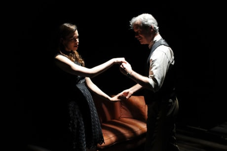 Julia Frey and Kevin Bergen. Photo by Shawn May.