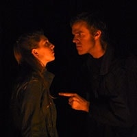 Christopher Damen and Abby Melick. Photo by Julia Peiperl. The Crucible