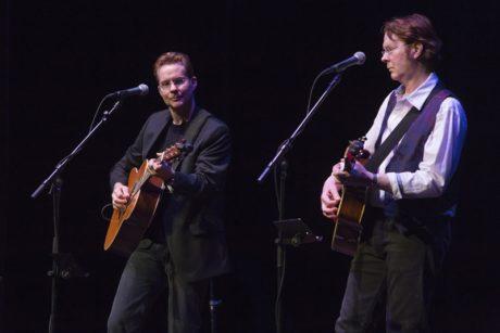 Jeb Guthrie and Jock Guthrie. Photo courtesy Bristol Riverside Theatre.