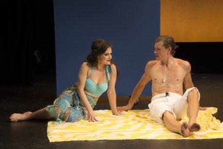 Tara Martinez and Patrick Dunn. Photo by Toby Donoghue.