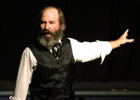 Iron Age Theatre Radical Acts, Marx in Soho. Photo by John Doyle.