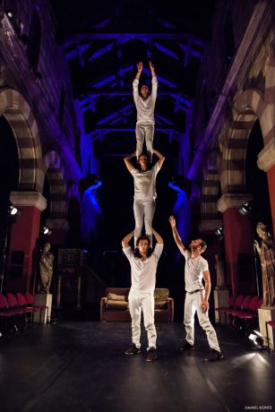 Almanac Dance Circus Theatre, Leaps of Faith and Other Mistakes. Photo courtesy of the company.