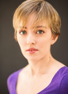 Playwright Brittany Brewer. Photo courtesy Elephant Room Productions.