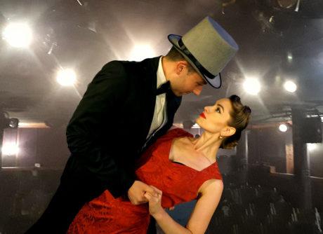 Clint Hromsco and Amy Londyn. Photo by Lou Vitacco.