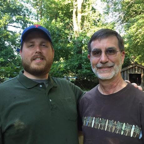 Jeff Dietzler and Harry Dietzler, Photo by Mark Dietzler.
