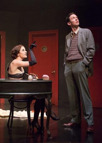 Charissa Hogeland and Daniel Fredrick. Photo by Mark Garvin.