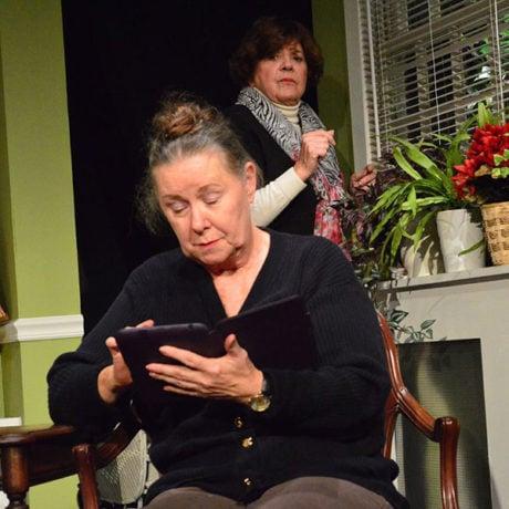 Virginia Barrie and Susan Dewey. Photo courtesy South Camden Theatre Company.