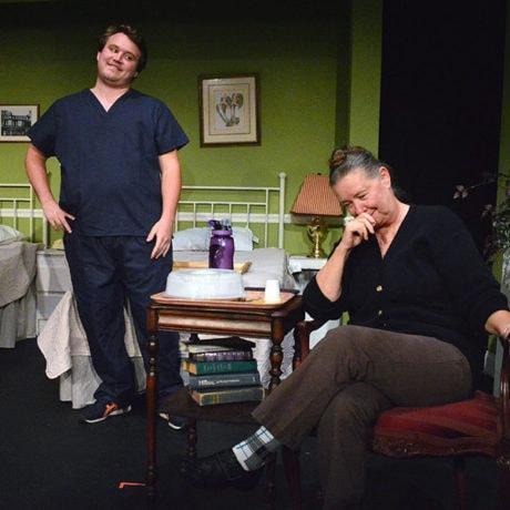 Steve Harding and Virginia Barrie. Photo courtesy South Camden Theatre Company.