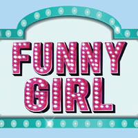 Funny Girl logo, Candlelight Dinner Theatre