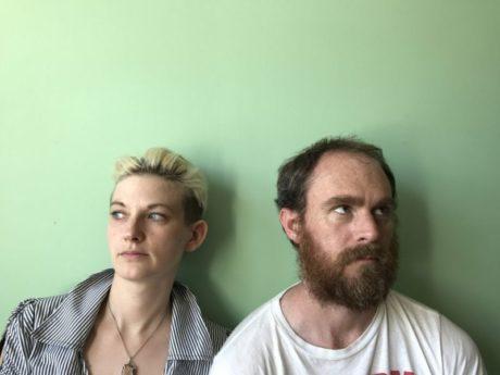 Mary Tuomanen and Chris Davis. Photo courtesy FringeArts.