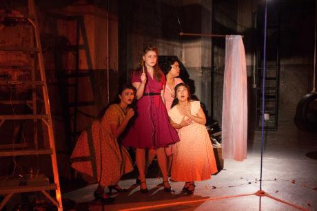 Merri Rashoyan, Tess Kunik, Nia Benjamin, and Bi Jean Ngo. Photo by Kate Raines, Plate 3 Photography.