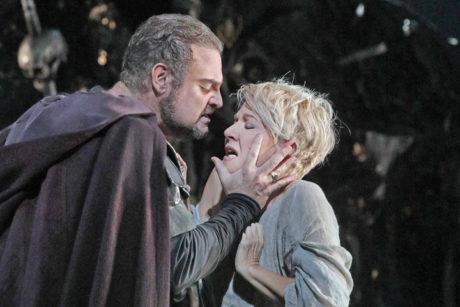 Matthew Rose and Joyce DiDonato. Photo courtesy The Metropolitan Opera.